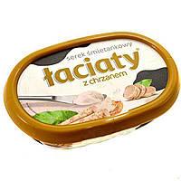 Сир-крем (сирна намазки) Laciaty з хріном Польща 135г