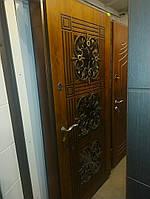 Входная дверь модель П5 345 vinorit-77 +ПАТИНА