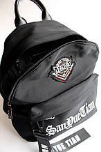 Рюкзак чорний поліестер