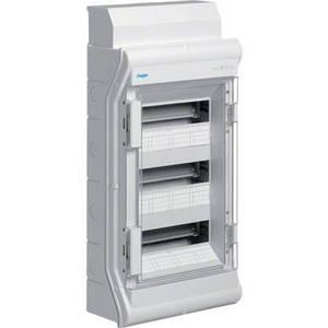 Щит розподільчий на 36(42) модулів, з/у з прозорими дверцятами, IP65, VECTOR