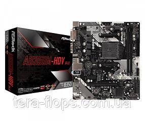Материнська плата ASRock AB350M-HDV R4.0 AM4 (AB350M-HDV R4.0) Б/У