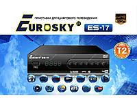 Цифровой эфирный ресивер Eurosky ES-17 DVB-T2