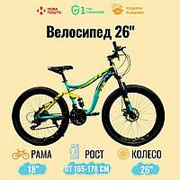 "Спортивний велосипед Unicorn - Shark, Колеса 26"", Рама 18"", Хроммолибден, фото 1"