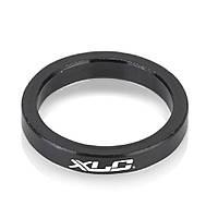 "Проставочное кольцо XLC черное, 5 мм, 1 1/8"" (AS)"