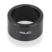 "Проставочное кольцо XLC черное, 20 мм, 1 1/8"" (AS)"
