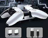 Зарядное устройство на магнитах док-станция VGBUS для DualSense PS5, фото 8