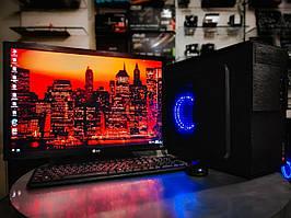 "Рабочая станция, компьютер для работы с монитором 24"" Full HD /intel i5 4570 SSD 120gb /16gb ОЗУ Quadro 4000"