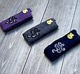 Подростковые колготы хлопок KBS с рисунком цветка украшены люрексом 6 шт. в уп. микс из 3х цветов, фото 5