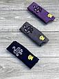 Підліткові колготи бавовна KBS з малюнком квітки прикрашені люрексом 11 років 6 шт. в уп. мікс із 3х кольорів, фото 5