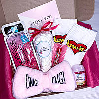 """Подарочный бокс для девушки Wow Boxes """"Beauty box # 2"""""""