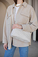 Жіноча сумка Доггі екошкіра 28*15*11 см бежевий