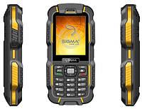 Мобильный телефон SIGMA mobile X-treme DZ67 Travel Black/Orange