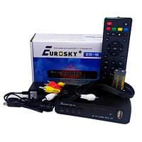 Цифровой эфирный ресивер Т2 Eurosky ES-16 DVB T2/C