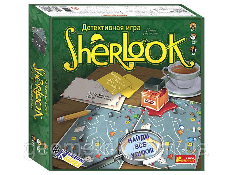 Детективна гра Sherlook. арт. 12120158Р штрих код 4823076149116