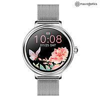 Умные часы женские смарт часы Smart Watch Max Robotics CF-80 серебро