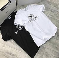 Женская футболка Balenciaga  Женская футболка с принтом Баленсиага
