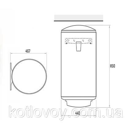 Комбінований водонагрівач Tesy Bilight 120 л, 2,0 кВт GCV9S1204420B11TSRP, фото 2