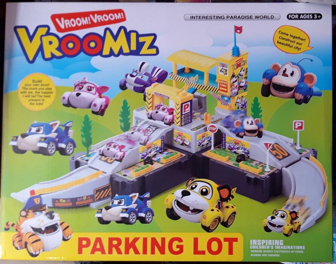 Трек паркінг Врумиз Vroomiz Parking