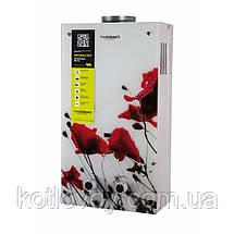 Газова колонка Thermo Alliance димохідна JSD20-10GB 10 л скло (квітка), фото 3
