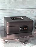 Сейф для денег Buromax BM-0400 (20см), фото 3