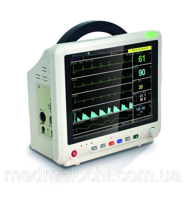 Монітор пацієнта ветеринарний PM5000V з капнографом  ETCO2 базового потоку