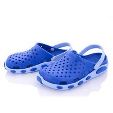 Кроксы женские сине-голубые 37-41 (8 пар)