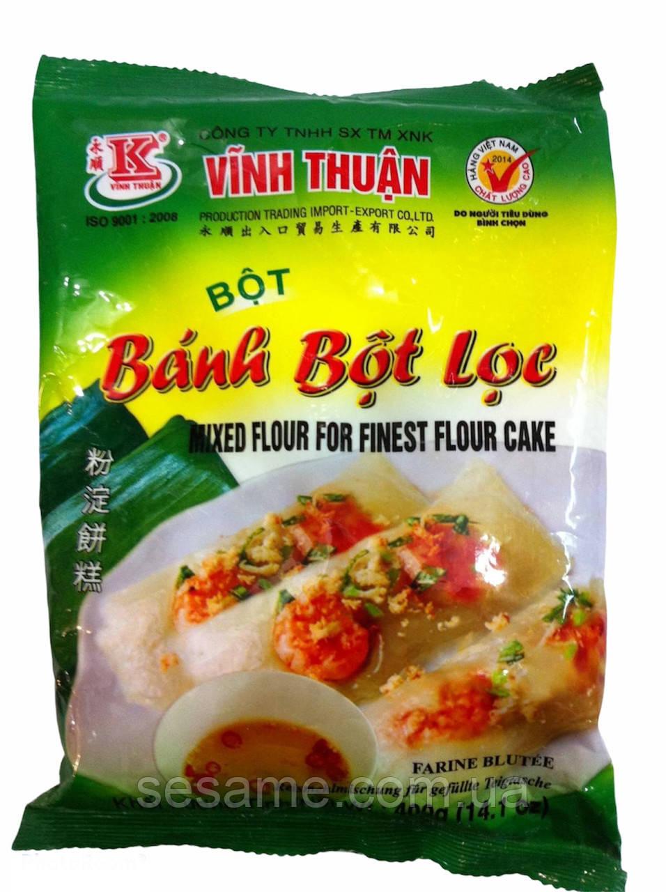 Мука из Тапиоки (BANH BOT LOC) для немов, рисовых листов , желе - 400 гр. Пр-во Вьетнам.