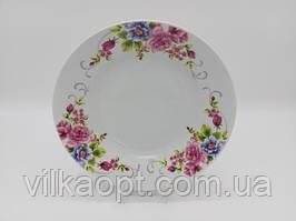 Тарелка глубокая столовая керамическая Венеция белая цветная для супа Миска для первых блюд суповая 550 мл