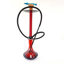 Кальян HABANO X2 красного цвета высота 70 см на 1 трубку кальян на одну персону