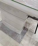 Стол TM-49 серый агат матовое стекло 120/160х80 (бесплатная доставка), фото 7