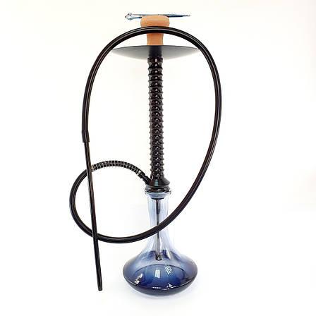 Кальян HABANO X2 чорного кольору висота 70 см на 1 трубку кальян на одну персону, фото 2
