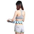 Масажер-стрічка роликовий Massage Rope для всього тіла спини універсальний стрічковий ручної розминає масажер, фото 5