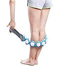 Масажер-стрічка роликовий Massage Rope для всього тіла спини універсальний стрічковий ручної розминає масажер, фото 7