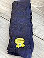 Дитячі підліткові колготки бавовняні KBS ажурні для дівчат 7,9,11 років 6 шт. в уп.чорні з синім візерунком, фото 5