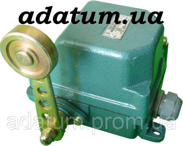 Кінцевий вимикач К-741 чавунний литий корпус