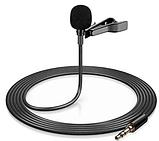 Микрофон петличка приемник для телефона, планшета, ноутбука Deepbass GL-119 3.5 мм, фото 2