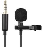 Микрофон петличка приемник для телефона, планшета, ноутбука Deepbass GL-119 3.5 мм, фото 3