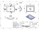 Умивальник MIRAGGIO JESSEL 600 матовий з литого мармуру, фото 3