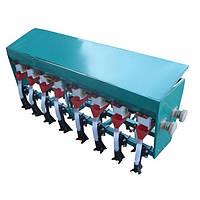 Сеялка зерновая 7-рядная С3-7Д для мотоблоков и минитракторов (с бункером для удобрений), фото 1
