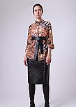 Жіноча шифонова блуза в яскравий анімалістичний принт Lesya Карон 6 48, фото 2