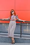 Жіноча шифонова блуза в яскравий анімалістичний принт Lesya Карон 6 48, фото 6