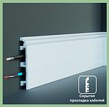 Плинтус  GRAND DECOR HCR 507 (2.00М) с полимеру для стен, фото 2
