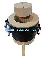 Кошик бочка 3 л на прес для олії холодного віджиму капролон