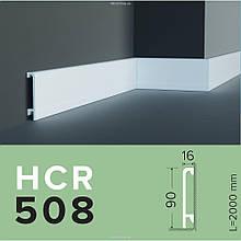 Плинтус GRAND DECOR HCR 508 (2.00М) с полимеру для стен