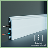 Плинтус GRAND DECOR HCR 508 (2.00М) с полимеру для стен, фото 2