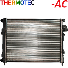 Радиатор охлаждения двигателя Renault Trafic / Opel Vivaro 1.9dCi -AC (2001-2006) Thermotec (Китай) D7R039TT