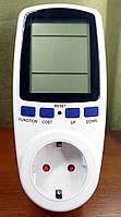 Розетка - энергометр счётчик электроэнергии портативный Feron TM55 (вольтметр, ваттметр, амперметр), фото 1
