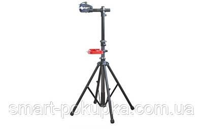 Стійка для ремонту і обслуговування велосипеда KL-BW02 4 лапи, захоплення з ексцентриком, лоток для інструменту
