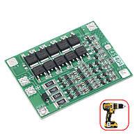 BMS 4S 40A 16,8 В Контролер заряду розряду Li-ion батарей, балансування