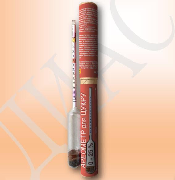 Ареометр для сахара АС-3 от 0-25%